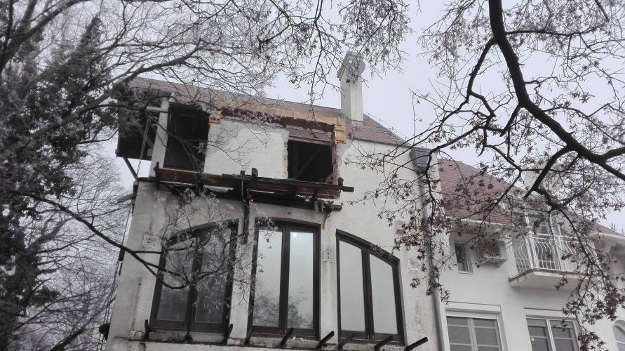 XII. kerületi családi ház felújítása - kezdeti szakasz.
